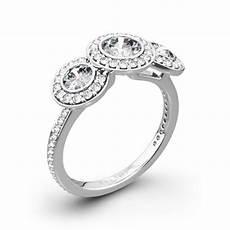 ritani endless love 3 stone engagement ring 2176