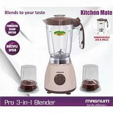 Kitchen Mate Blender by Magnum 3 In 1 Kitchen Mate Blender