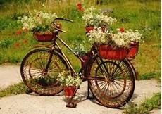 Kreative Garten Deko Ideen Mit Alten Fahrr 228 Dern