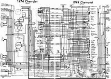 Stingray 1976 Corvette Wiring Diagram by Chevrolet Corvette 1974 Complete Electrical Wiring Diagram