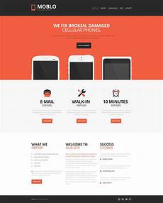 mobile repair service moto cms html template 54663