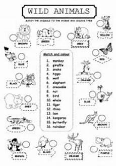 animals worksheets for primary 13865 animals esl worksheet by lamejor