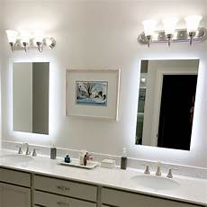 lighted vanity mirror 24 quot wide 32 quot t mam92432 side lighted led wall mounted ebay side lighted led bathroom vanity mirror 24 quot 32
