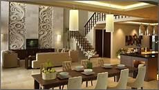 Desain Interior Ruang Makan Rumah Mewah Modern Efrata