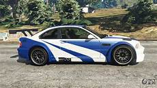 bmw m3 gtr kaufen bmw m3 gtr e46 most wanted for gta 5