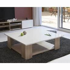 table basse carrée blanc laqué lime table basse carr 233 e col chene blanc laqu 233 achat