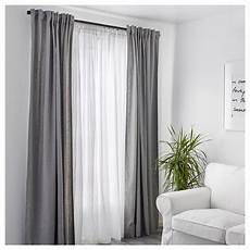 100 cotton ikea white curtains bedroom living room window