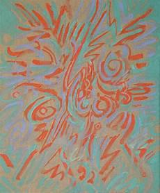 quot linen series 1 quot by ken resen 500 affordable acrylic paint raw linen canvas kollecto