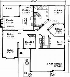 e plans ranch house plans ranch style house plan 2 beds 2 baths 2228 sq ft plan