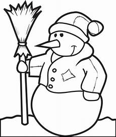 free printable snowman coloring page for 5 supplyme