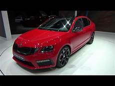 2018 Skoda Octavia Rs 245 Exterior And Interior Geneva