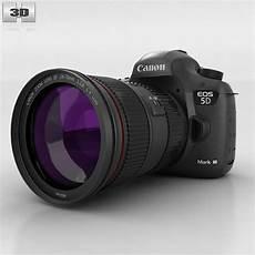 Canon Eos 5d Iii 3d Model Cgtrader