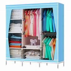 Garment Storage Organizer portable stainless closet garment storage wardrobe