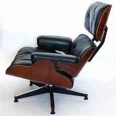 original 1965 eames 670 lounge chair and 671 ottoman black
