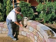 Ziermauer Im Garten - gartenmauer bauer bauhaus