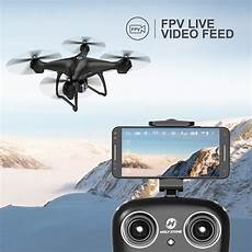 holy stone hs100 holy stone hs100 fpv rc drone with camera live video and gps return home quadcop ebay