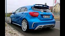 dia show tuning mercedes a klasse customs germany