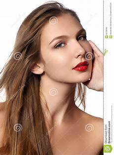 Mannequin Portrait Avec De Longs Cheveux De