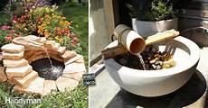 fontaine de jardin diy 15 id 233 es pour un ext 233 rieur