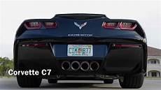chevrolet corvette c7 exhaust auspuff sound