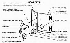 fireplace door schematic diagram a compact wood burning cook stove and heater do it yourself earth news