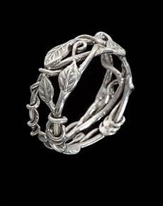 vine leaf ring sz 7 1 4 art jewelry by poppy
