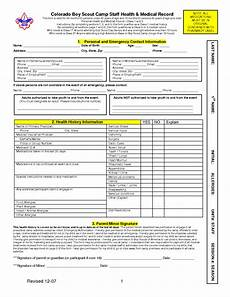 bsa medical form templates free printable