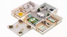 3 bedroomed house plans 3 bedroom house ground floor plans 3d see description