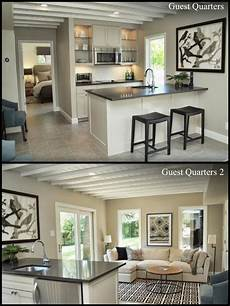 Kitchen Decorating Ideas For Flats by Neutral Grey Tones For Guest Quarters Which Include Bed
