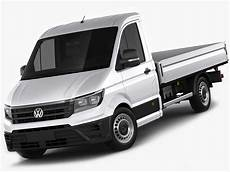 Vw Crafter 2017 Single Cab 3d Model Cgtrader