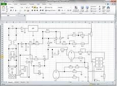 create circuit diagram for excel
