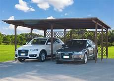 tettoia auto carport 2 posti 640x495 pergola tettoia in di legno auto