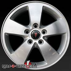 16 quot pontiac grand prix wheels oem 05 08 silver factory