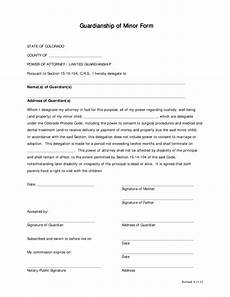 colorado limited power of attorney form legalforms org