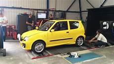 Fiat Seicento Sporting Abarth Dyno Run