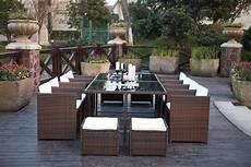 salon de jardin resine tressee marron salon de jardin 12 places r 233 sine tress 233 e encastrable