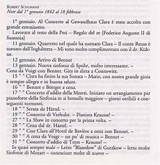 lettere di per lui robert schumann website biografia e lettere 1842