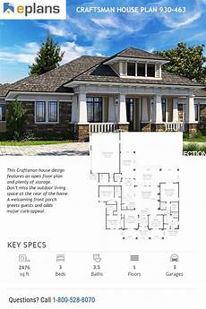 craftsman prairie style house plans prairie style house plan 3 beds 3 5 baths 2476 sq ft