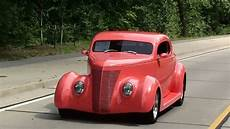 Test Driving 1937 Ford Coupe Rod Fast