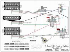Hsh Wiring Diagram 2 Volume 1 Tone by Hsh W 1 Volume 2 Tone Pots With Pullups Wiring