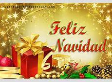 merry christmas wishes in spanish