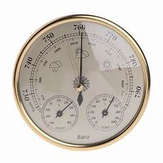 Gold Wall Hanging Weather Thermometer Barometer by Buy Padory Household Weather Station Barometer Thermometer