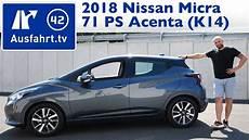 Nissan Micra K14 - 2018 nissan micra acenta 71 ps 5mt k14 kaufberatung