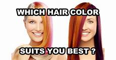 Best Hair Color For Me Test