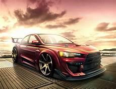Mitsubishi Lancer Evo X Wallpaper