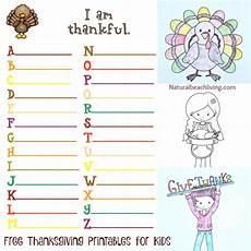 5 fun filled thankful thanksgiving printables for kids natural living