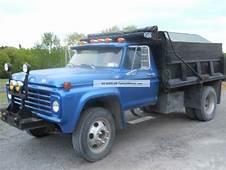 1970 Ford Dump Truck F600