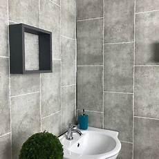 Badezimmer Wandverkleidung Kunststoff - 10 cutline concrete grey pvc bathroom cladding plastic