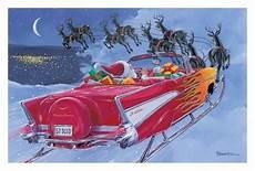 chevy weihnachten 1957 chevy bel air sled time car