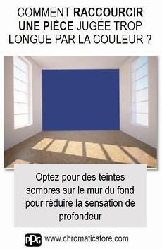effet de profondeur peinture murale optez pour des teintes sombres sur le mur du fond pour r 233 duire la sensation de profondeur d une